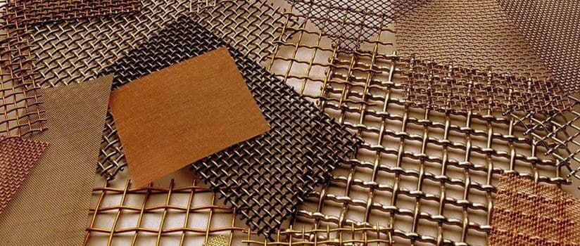Copper Nickel 90/10 Wire Mesh