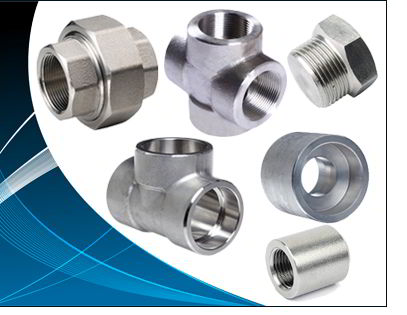 ASTM B564 Nickel Alloy 201 Forged Fittings